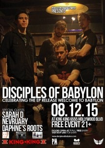 DOB Disciples EP release party