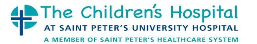 StPeter Childrens Hospital long