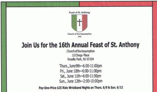 16th Annual Feast Of St Anthony