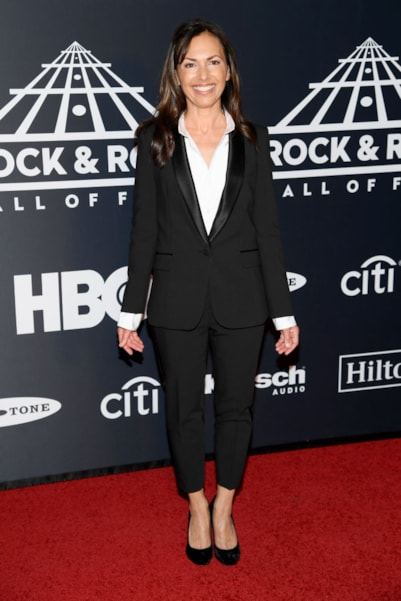 NEW YORK, NEW YORK - MARCH 29: The Bangles' Susanna Hoffs attends the 2019 Rock & Roll Hall Of Fame Induction Ceremony at Barclays Center on March 29, 2019 in New York City. (Photo by Dimitrios Kambouris/Getty Images For The Rock and Roll Hall of Fame)