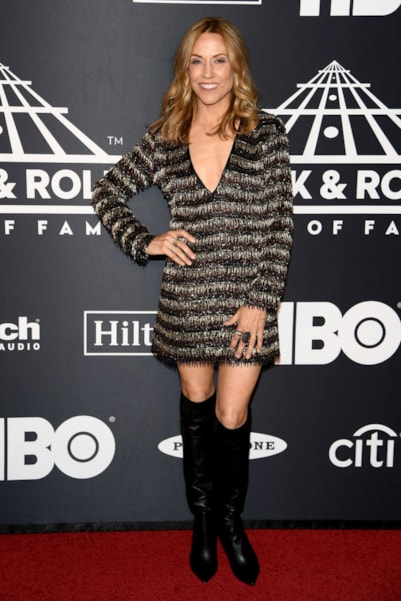NEW YORK, NEW YORK - MARCH 29: Sheryl Crow attends the 2019 Rock & Roll Hall Of Fame Induction Ceremony at Barclays Center on March 29, 2019 in New York City. (Photo by Dimitrios Kambouris/Getty Images For The Rock and Roll Hall of Fame)