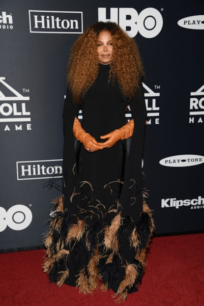 NEW YORK, NEW YORK - MARCH 29: Inductee Janet Jackson attends the 2019 Rock & Roll Hall Of Fame Induction Ceremony at Barclays Center on March 29, 2019 in New York City. (Photo by Dimitrios Kambouris/Getty Images For The Rock and Roll Hall of Fame)