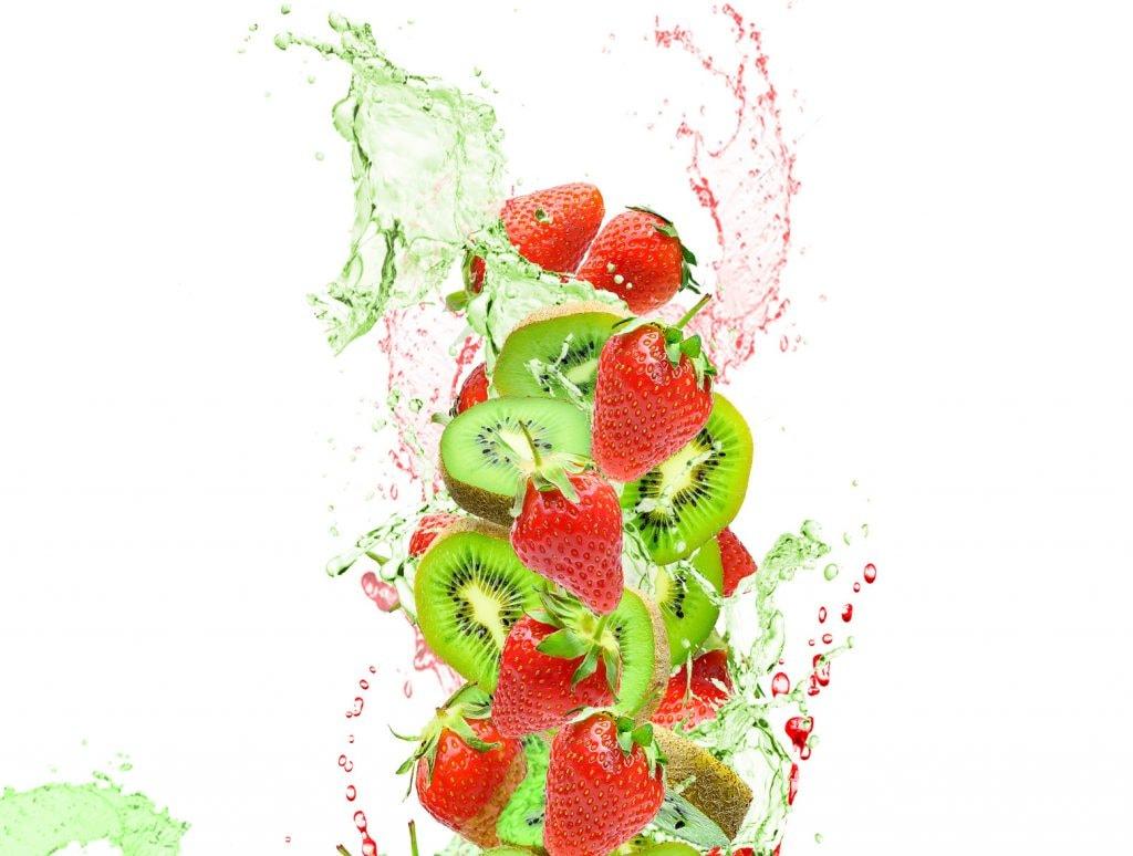Strawberry-Kiwi Spritzer