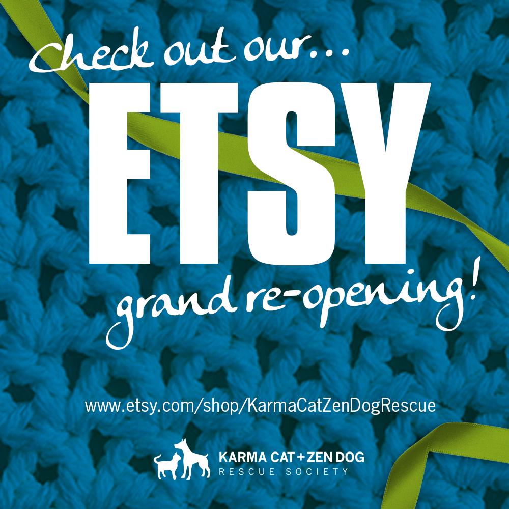 Karma Cat & Zen Dog Etsy Store