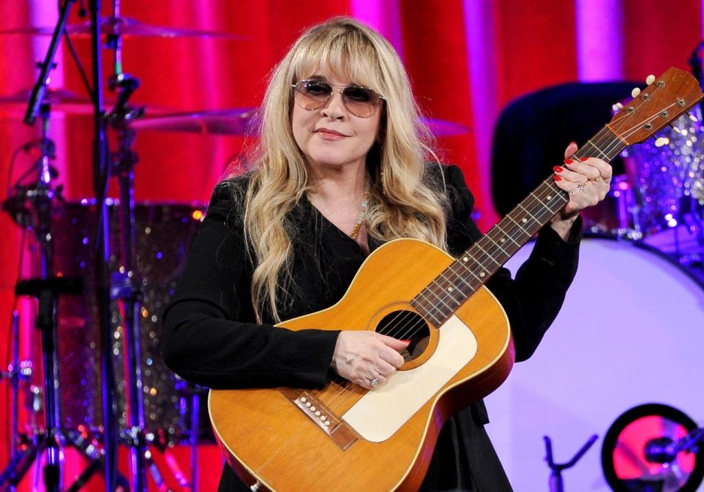 BEVERLY HILLS, CA - MAY 13:  Singer-songwriter Stevie Nicks, recipient of the BMI Icon Award speaks onstage at the 62nd annual BMI Pop Awards at the Regent Beverly Wilshire Hotel on May 13, 2014 in Beverly Hills, California.  (Photo by Kevin Winter/Getty Images)