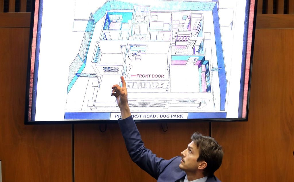 Ashton Kutcher testifies at the murder trial of accused serial killer Michael Gargiulo.